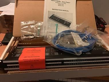 Neutrik Patchbay Bantam NPPA-T-S da 96 NUOVA (imballata per )