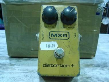 MXR Distortion + Vintage Block Logo anni '80