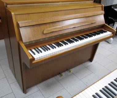 Schimmel pianoforte acustico verticale 102 cm - noce medio