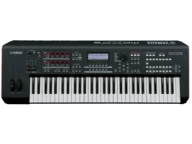 Yamaha Moxf6 + Flash Rom 512mb Omaggio! - Sintetizzatore 61 Tasti Semipesati
