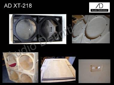 """AUDIO DEFINITION P.A. """"XT-218"""""""