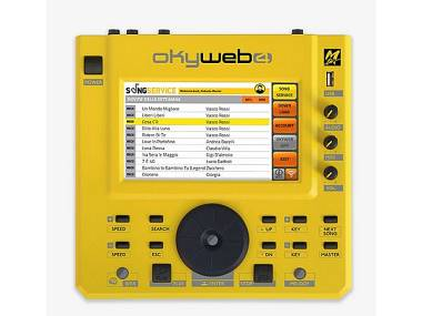 M-LIVE Okyweb 4 LETTORE DI FILE MIDI E AUDIO MP3