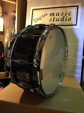 """Gretsch Drums Brooklyn Rullante 14""""x6,5"""" - Black Oyster made in USA. Spedito."""