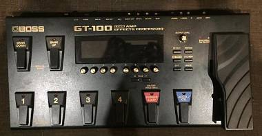 Boss Gt-100  con custodia