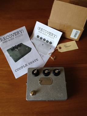 Recovery Effects Couple Skate MKI Low Octave Fuzz Boutique Video Death by Audio