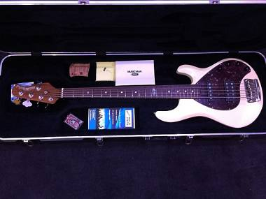 "Music Man StingRay5 HS BFR ""Ball Family Reserve"" Limited Edition!Set Up Liuteria"