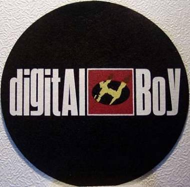 Panno per giradischi ''Digital Boy''