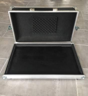 Flight case Pedalboard 58x32,5x8cm PRONTA CONSEGNA