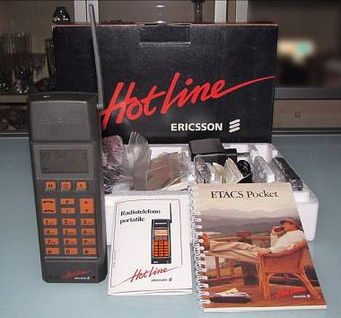 Ericsson NH72 Cellulare ETACS del 1989