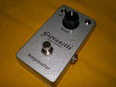 Giovanetti Hand Wired Dallas Rangemaster - AnalogMan Beano Boost