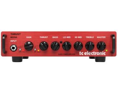 Tc Electronic Bq250 - Testata Per Basso 250w Con Preamp Mosfet E Compressore