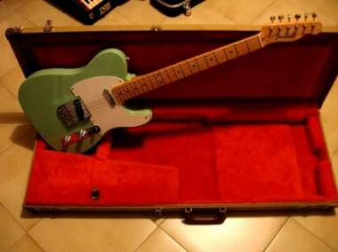 Fender Telecaster California Beach 52 Custom Shop+Case IBANEZ ARTIST AS 200!cmc