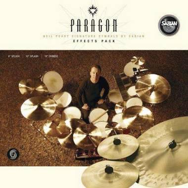 Sabian Neil Peart Paragon np5005neb 8 ,10 ,19 (splash + china) Spedizione Gratis