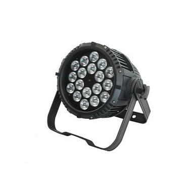 FARETTO PAR LED FX 18x15W RGBWA 5in1 DA ESTERNO IP65