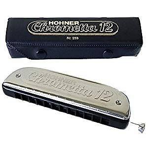 HOHNER Chrometta 12 C (DO) ARMONICA CROMATICA IN DO