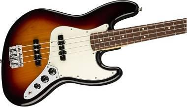 Fender - Player Jazz Bass®, Pau Ferro Fingerboard, 3-Color Sunburst