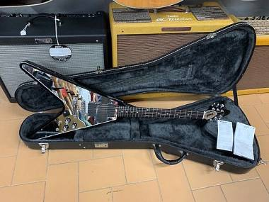 Gibson Flying V New Century Limited Run Mirror Pickguard 400 pezzi anno 2006