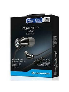 Sennheiser M2IEG Momentum In Ear  Auricolari Cuffia x Samsung Galaxy,Nero Chrome