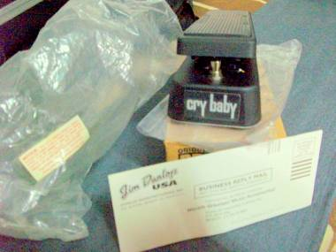 DUNLOP CRY BABY WAH WAH Reissue Classic Vintage