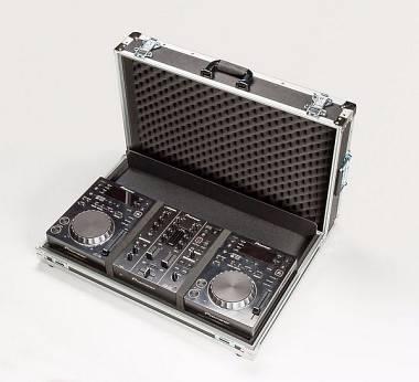 Valigia AMABILIA FLIGHT CASE DJ per Lettore PIONEER CDJ350 + mixer DJM350