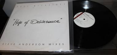 Paul McCartney Deliverance (The Steve Anderson Mixes) RARO....