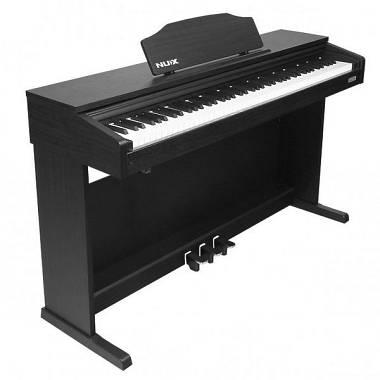 NUX WK-400 Pianoforte Digitale con Mobile Black