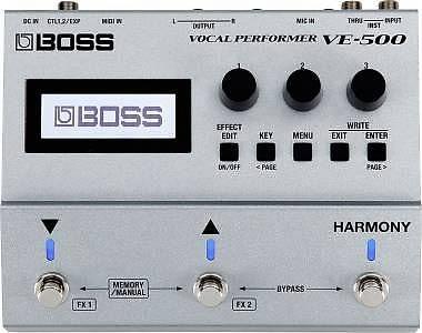 Boss VE-500 -MULTIEFFETTO PER VOCE