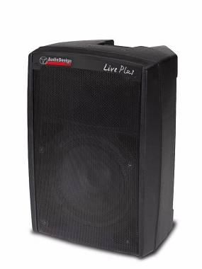 """Audiodesign Pro Live Plus 12 diffusore attivo 12"""" 300W+50W"""