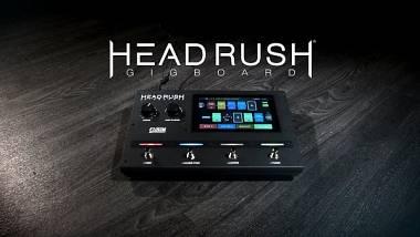 HEADRUSH GIGBOARD GUITAR AMP FX MODELLING PROCESSOR