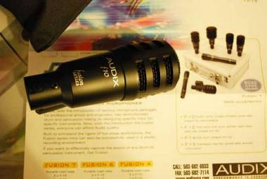 Audix F10 microfono per Rullante,Hi Hat,Ampli chitarra,ecc. OFFERTA!!