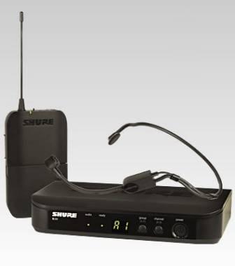 SHURE BLX14E P31 RADIOMICROFONO WIRELESS