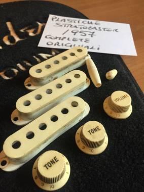 Fender stratocaster plastiche complete 1956/64