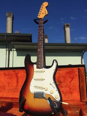 Fender Stratocaster 1966 sunburst original