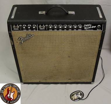 Fender Super Reverb Blackface 1965 vintage orig.