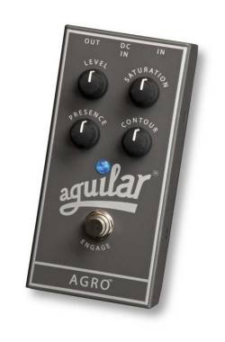 AGUILAR AGRO BASS OVERDRIVE PEDALE EFFETTO