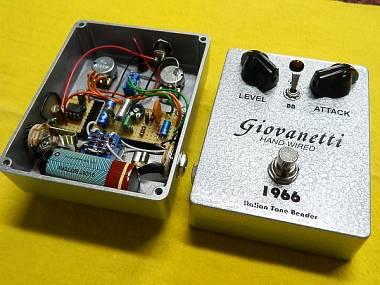 Giovanetti Hand Wired Vox Tone Bender 1.5 DAM 1966 clone