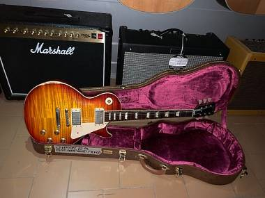 Gibson Les Paul Historic '59 R9 Hand Picked Heavy Aged anno 2014 NUOVA!!