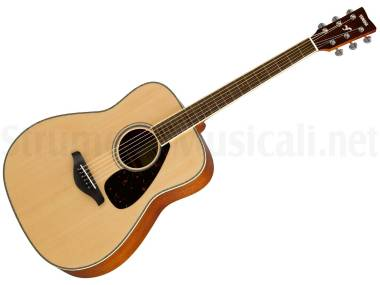 Yamaha Fg820 Natural - Chitarra Acustica Naturale