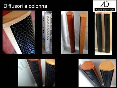 "AUDIO DEFINITION P.A. ""BOX A COLONNA"""