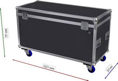 OFFERTA RTF Flight case Baule 120x50x60h