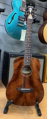 D'Angelico Guitars Premier Utica Natural Koa 3/4