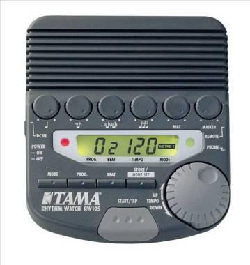 Tama RW-105 RHYTHM WATCH, METRONOMO. SPEDIZIONE INCLUSA