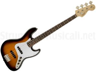 Fender Squier Affinity Jazz Bass Lrl Brown Sunburst - Basso Elettrico Brown Sunburst
