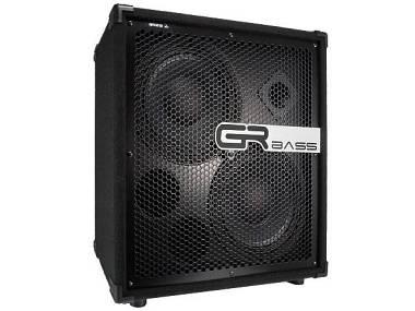GR BASS GR210 cassa per basso 600 watt  2x10 + tweeter