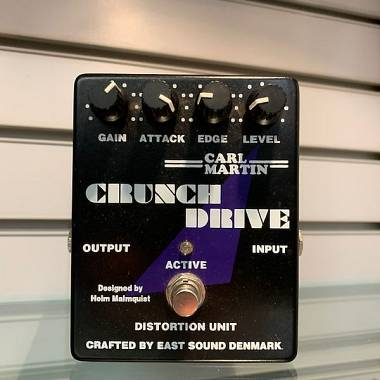 Carl Martin CRUNCH DRIVE OVERDRIVE DISTORTION OTTIMECONDIZIONI