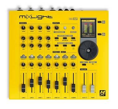M Live MIXLIGHT ottimo mixer digitale con modulo sonoro e harmonizer