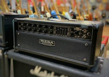 Mesa Boogie Express 5:50 Plus (+) + Cover + Footswitch PERFETTA