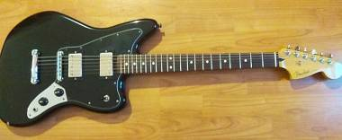 Fender Jaguar  blacktop HH