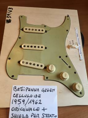 Fender stratocaster battipenna 1959/63 NO REISSUE
