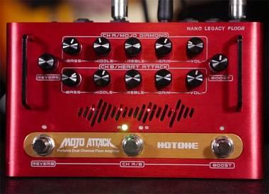 Hotone Mojo Attack Nano Legacy -  AMPLIFICATORE A PEDALE PER CHITARRA
